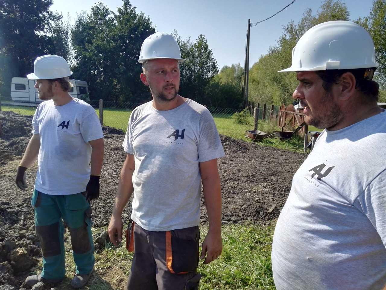 Alapozás a földfelszínig az Adam-House Kft-vel - Balatonmáriafürdő, Keller Családi Ház 2018-09-19