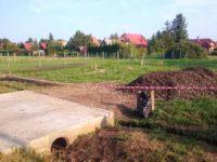 Kőzúzalék az alapozáshoz - Keller Családi Ház 2018-08-31 Balatonmáriafürdő