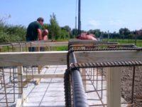 Betonacél szerelés - Keller Családi Ház 2018-08-31 Balatonmáriafürdő