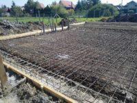 Készen van a hajnalba nyúló alapozás - Keller Családi Ház, Balatonmáriafürdő 2018-09-22