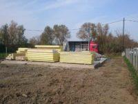 SIP panelelemek érkezése - Keller Családi Ház, Balatonmáriafürdő 2018-10-15