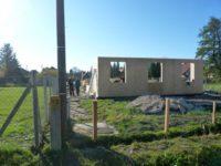 SIP-falszerkezet felépítés 2018-11-14 Keller Családi Ház, Balatonmáriafürdő
