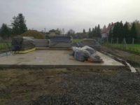 SIP panelek eső elleni védelme - KELLER CSALÁDI HÁZ, Balatonmáriafürdő 2018-11-03