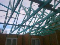 Tetőlécezés és tetőfóliázás - Keller Családi Ház 2018-11-29
