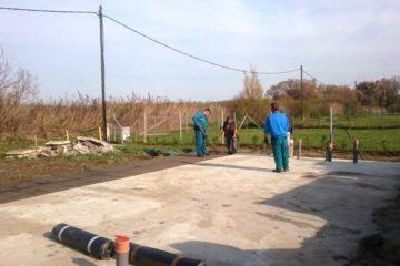 Vízszigetelés és tetőszerkezet érkezés 2018.11.05. Keller Családi Ház, Balatonmáriafürdő