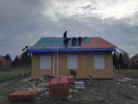 Tetőfedés, tetőcserép - Keller Családi Ház, Balatonmáriafürdő