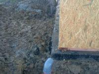 Alap víz-, szenyvíz- és csatorna-vezeték, külső hőszigetelés -Keller Családi Ház, Balatonmáriafürdő