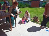 Baráti találkozónk a volt kivitelezőnkkel és családjával, Keller Családi Ház Balatonmáriafürdő, az első Adam-House-os SIP-ház